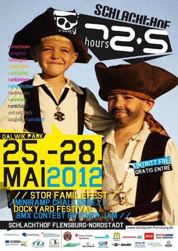 72,5 hours Schlachthof – Dreifache Freude: BMX Contest Butcher Jam und Dockyard Festival