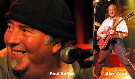 ALEX CONTI & PAUL BOTTER – einmaliges Konzert im Roxy Concerts Flensburg