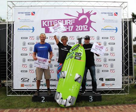 Erfolgreiche Kitesurf-Trophy auf der Flensburger Förde bei Holnis