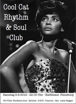 Cool Cat Rhythm & Soul Club im Kaffeehaus Flensburg