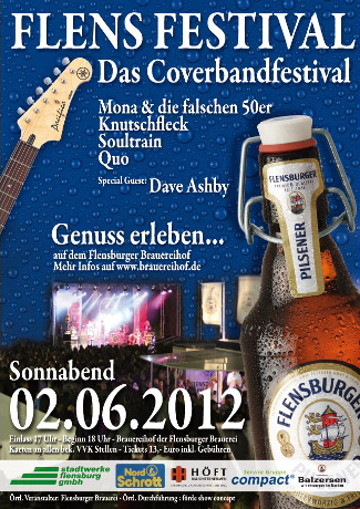 Das Flens Festival 2012 – Coverband-Highlight in Flensburg