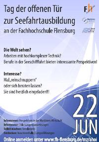 Seefahrtausbildung – Tag der Offenen Tür im Maritimen Zentrum Flensburg