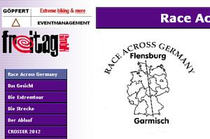 Race Across Germany 2012 – von Flensburg nach Garmisch-Partenkirchen