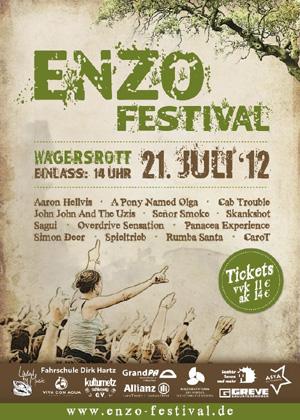 Wagersrott rockt: Das ENZO Festival 2012