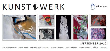 Ausstellung: KUNST . WERK 7 Künstlerinnen aus Flensburg