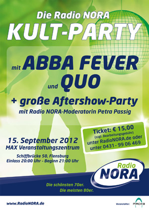 Radio NORA Kult-Party im Flensburger MAX
