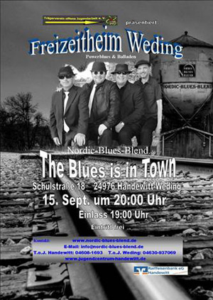 Nordic-Blues-Blend im September live in Weding
