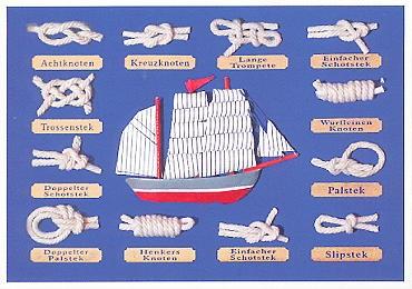 Knotenmachertreffen im Schifffahrtsmuseum