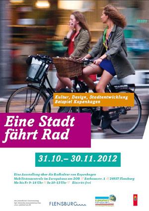 Ausstellung – Kopenhagener Fahrradkultur in Flensburg