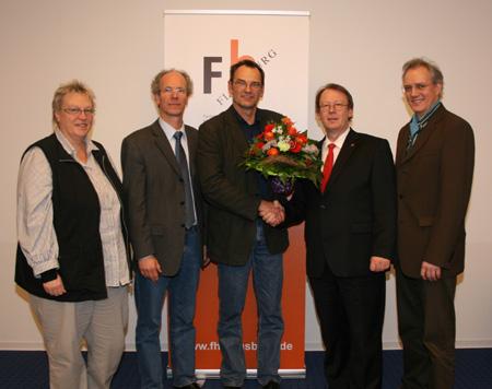 Neuer Vizepräsident an der FH Flensburg gewählt