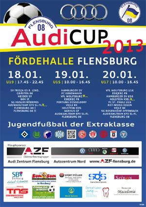 Audi-Cup – Flensburg 08 holt den Bundesliga-Nachwuchs an die Förde