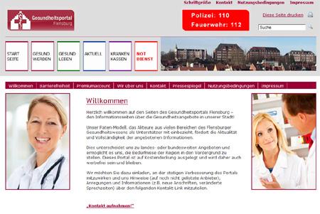 Ein Jahr Gesundheitsportal Flensburg