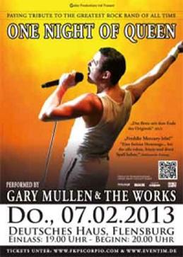 Für Fans: One Night Of Queen im Deutschen Haus Flensburg