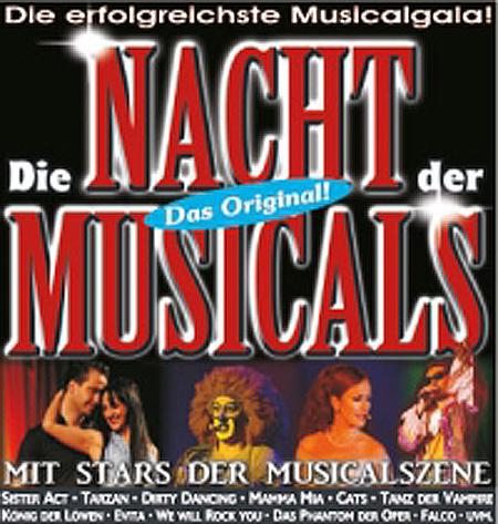 Im Deutschen Haus wird Die Nacht der Musicals gefeiert