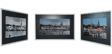 Riefelbilder –  Neue Ausstellung im Rathausfoyer der Stadt Flensburg