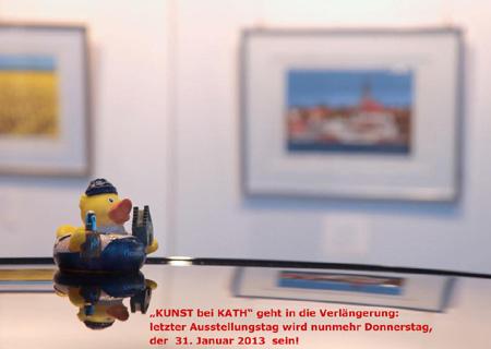 Kunst bei Kath – Nordische Impressionen – rund um den Flensburg Fjord – Finissage zum Abschluss