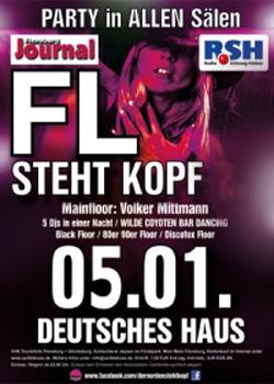 Am Samstag: Flensburg steht Kopf 5.0 – im Deutschen Haus