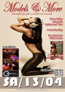 Inside Stadtmagazine feiert mit der Models & More Party das Zweijährige