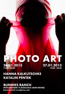 PHOTOART- Ausstellung in der Galerie Bunnies Ranch