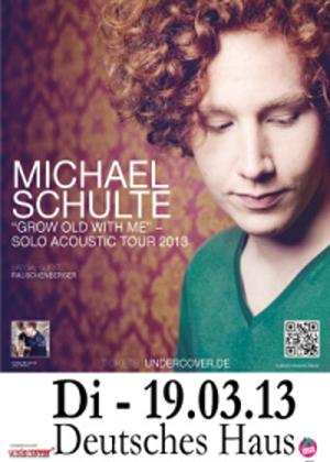 Michael Schulte – The Voice und YouTube Star im Deutschen Haus Flensburg