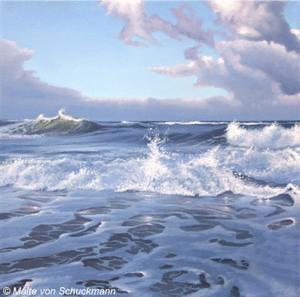 Wellen, Wolken, Weite – Die Galerie BILDER im Hof in Flensburg mit neuer Ausstellung