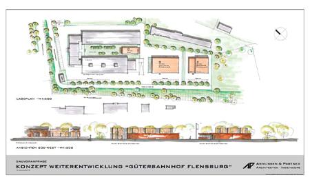 Öffentlichkeit in Flensburg soll zum Vorhaben Erweiterung des ehemaligen Güterbahnhofs beteiligt werden