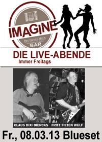 LIVE! Blueset in der Imagine Bar im Deutschen Haus Flensburg
