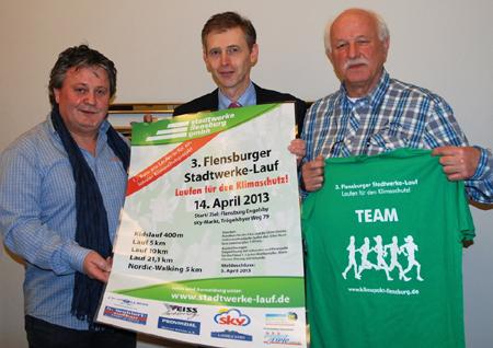 News und Programm zum 3. Flensburger Stadtwerkelauf 2013 – Laufen für den Klimaschutz