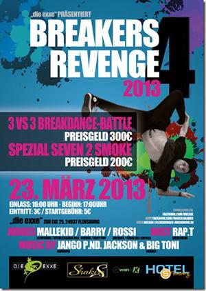 Die exxe steht Kopf – BREAKERS REVENGE 4 mit Breakdance Battle