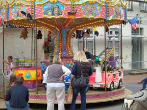 Der Frühjahrsmarkt 2013 auf der Flensburger Exe