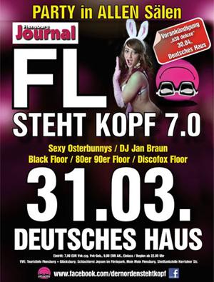 Flensburg steht Kopf – 7.0 im Deutschen Haus