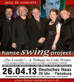 ABGESAGT! HanseSWINGproject im Deutschen Haus Flensburg – A Tribute To Cole Porter