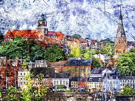 Ein Bild von Flensburg – Heiko Westphalen stellt aus bei Optik Drews in Flensburg