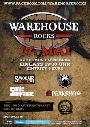 Im Mai: Kühlhaus Flensburg wird zum Warenhaus – Warehouse ROCKS