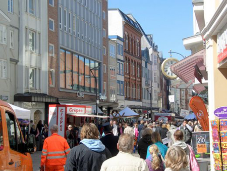 Verkaufsoffener Sonntag in Flensburg – die Bilder des Tages
