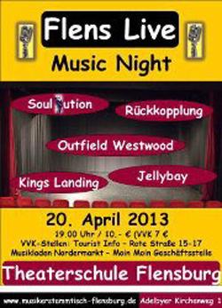 Flens Live – Music Night in der Theaterschule Flensburg