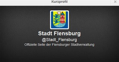 Piep, piep! Jetzt twittert die Stadt Flensburg