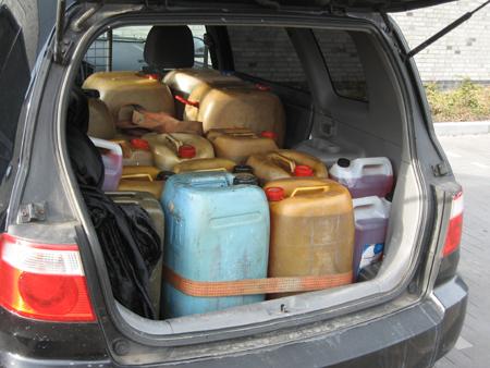 Flensburg: Däne mit 650 Liter Heizöl im Auto erwischt – kein gutes Geschäft für ihn