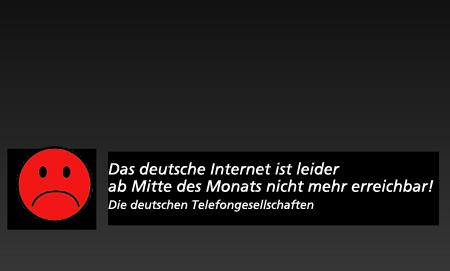 Das Internet und Deutschland – zurück in die 90iger Jahre