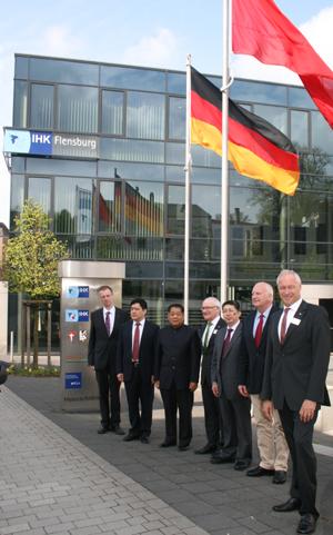 Chinesische Delegation besuchte die IHK Flensburg