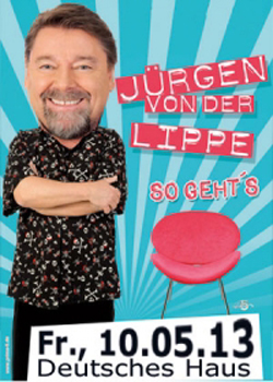Spaß im Deutschen Haus Flensburg: Jürgen von der Lippe