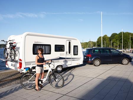 Caravan Center Nord Harrislee gibt Tipps für Fahrradtransport mit dem Wohnmobil