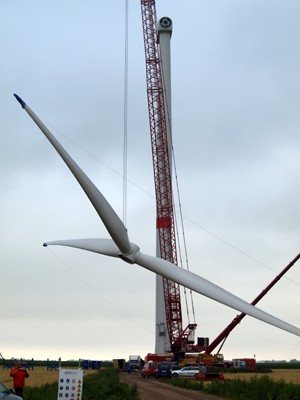 Wie sehen die Windräder der Zukunft aus? – Ringvorlesung an der FH Flensburg