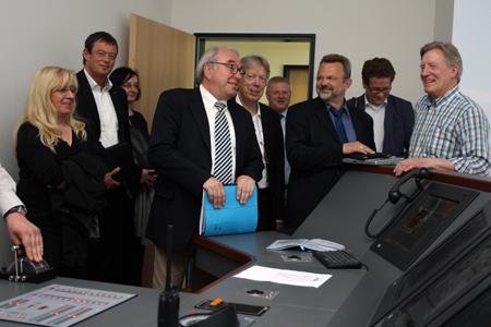 SPD-Politiker informieren sich über Maritime Ausbildung an der FH Flensburg