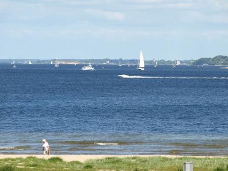Wasserqualität der Flensburger Ostsee-Badestellen –  Okay, aber einfach zu kalt