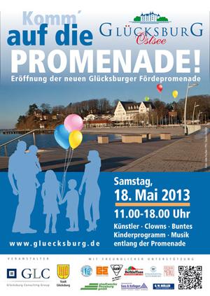 Glücksburg feiert am 18. Mai seine neue Promenade