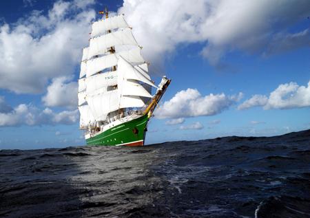 Traditionsseglerstadt Flensburg – die neue Alexander von Humboldt II kommt im Juni an die Förde