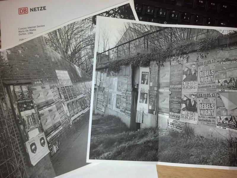 Auch das noch! Flensburg-Szene soll wilde Plakate entfernen – Post von der DB Netz