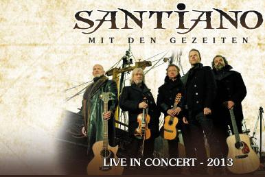 Schöner weihnachten mit Santiano in der Flens-Arena Flensburg