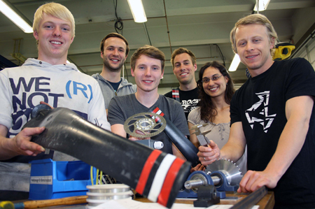 FH Flensburg: Team WETI nimmt an internationalem Kleinwindkraftanlagen-Contest teil